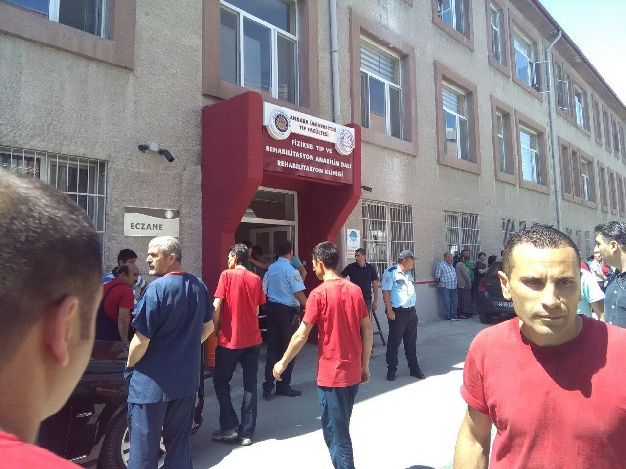Ankara Üniversitesi Tıp Fakültesi'ndeki silahlı saldırı için üniversiteden açıklama