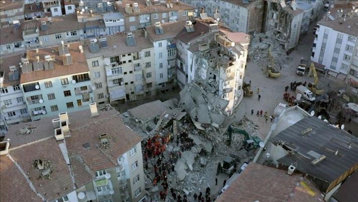 İstanbul Üniversitesi Cerrahpaşa Rektörlüğü, Elazığ depremi ön inceleme raporu yayımladı