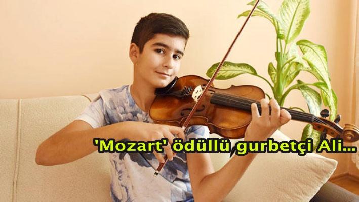 'Mozart' ödüllü gurbetçi Ali...