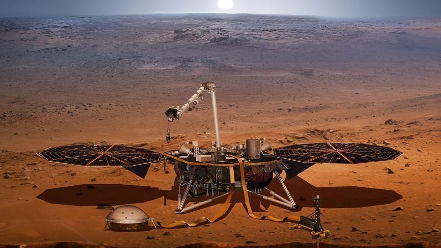InSight, Kızıl Gezegen'de 100'den fazla sesi kayıt altına aldı