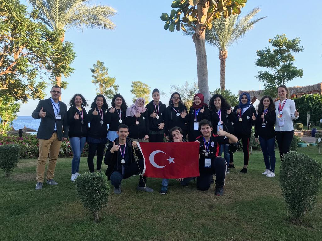 Uluslararası Bilim ve Mühendislik Olimpiyatı'na Türkiye Damgası