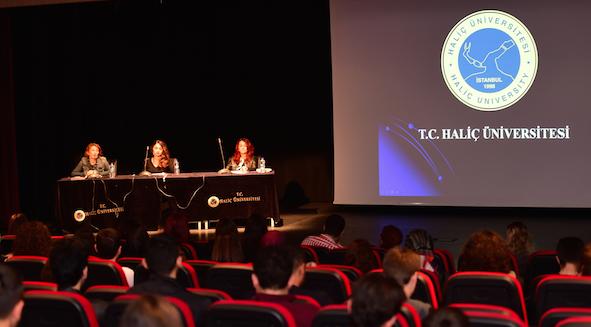 Haliç Üniversitesi'nden Kadına Yönelik Şiddetli Mücadele Paneli