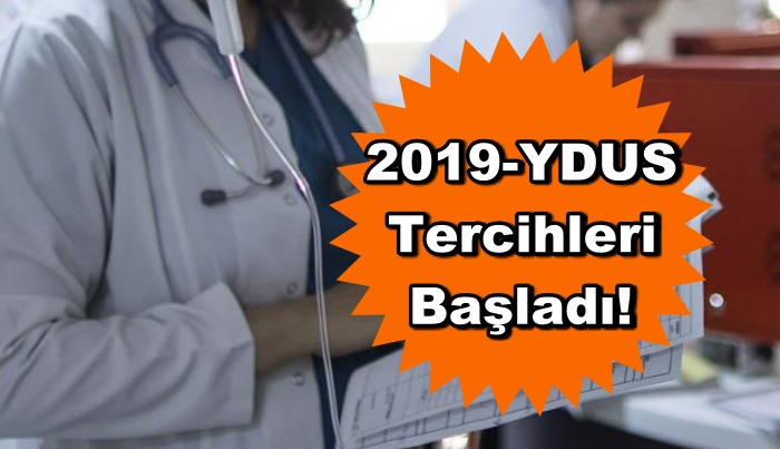 2019-YDUS Tercihleri Başladı!