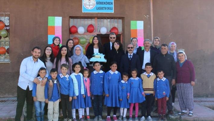 Üniversite Öğrencilerinden Köy Okuluna Zeka Oyunları Sınıfı