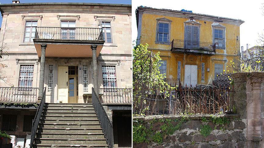 İki asırlık Giresun evlerinde Da Vinci izleri