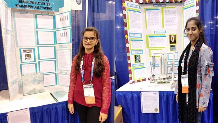 Türk okulunun kız öğrencileri bilim yarışmasında Pakistan'ı ABD'de temsil etti