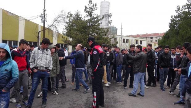 Aksaray'da Lisede Pompalı Dehşet