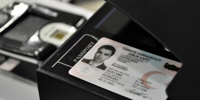 Çipli kimlik kartlarına yoğun başvuru