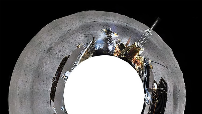 Çin'in Ay'ın karanlık tarafındaki keşif aracı yaklaşık 400 metre yol katetti