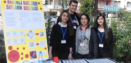 Liseliler projeleriyle bilim fuarında