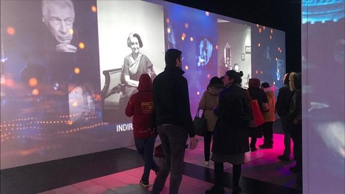 'Ara Güler Dijital Fotoğraf Sergisi'ne sanatseverlerden yoğun ilgi