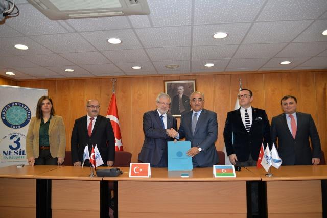 Uludağ Üniversitesi'nden Azerbaycan Bakü Devlet İktisat Üniversitesi ile işbirliği