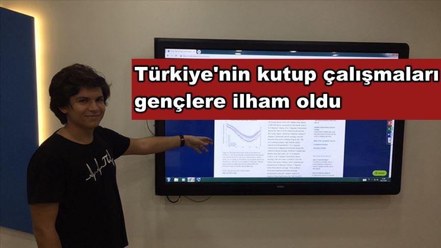 Türkiye'nin kutup çalışmaları gençlere ilham oldu