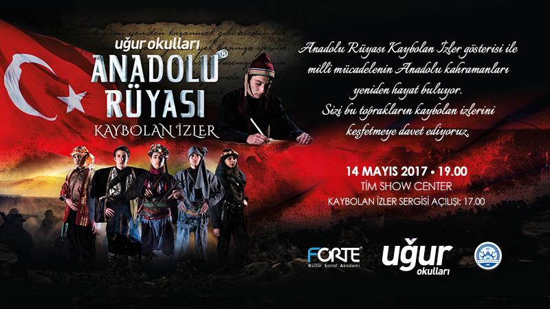 """Uğur Okulları'ndan """"Anadolu Rüyası"""""""