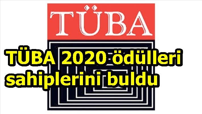 TÜBA 2020 ödülleri sahiplerini buldu