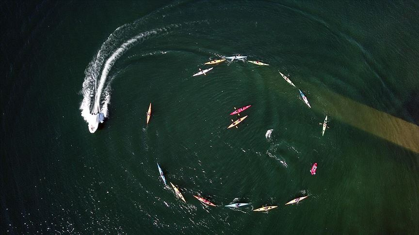 'Saklı cennet' Pertek su sporlarıyla şenlendi