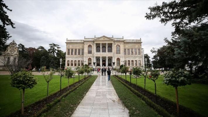Dolmabahçe Sarayı'nı 2019'da 1 milyon 306 bin kişi gezdi