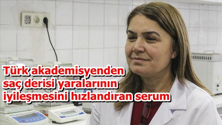 Türk akademisyenden saç derisi yaralarının iyileşmesini hızlandıran serum
