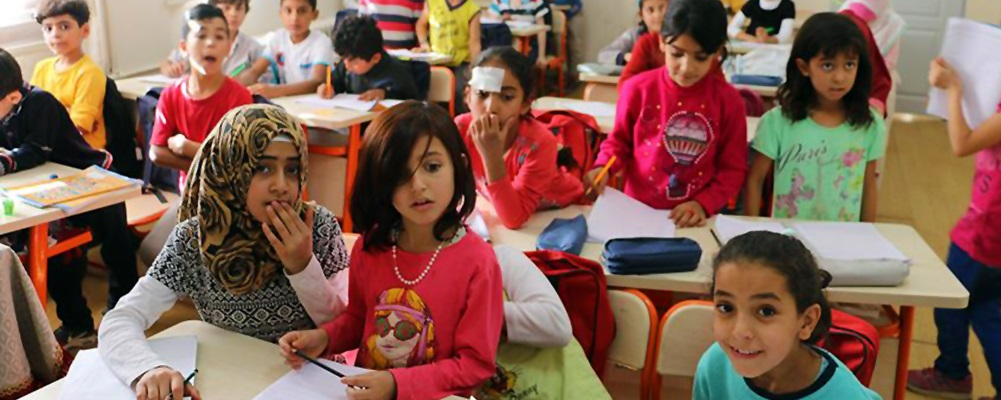 Suriyeli çocukların eğitimine PİCTES desteği