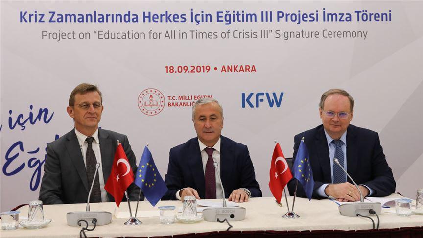 MEB'e AB fonlarından yeni eğitim protokolü
