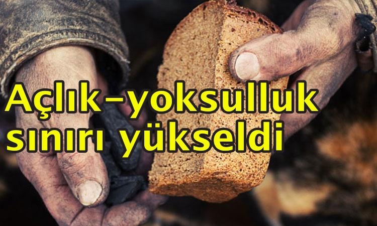 Yoksulluk sınırı 5 bin 262 lira!