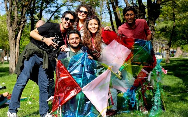 Öğrenciler AGÜ Kulüp Festivali'nde Stres Attı