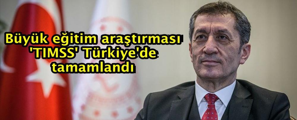Büyük eğitim araştırması 'TIMSS' Türkiye'de tamamlandı