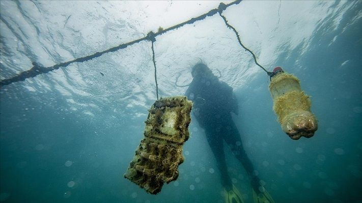 Denizlerin plastik savaşçıları