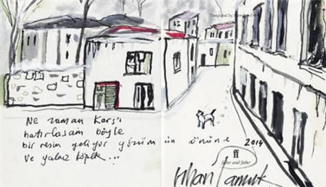 Orhan Pamuk'tan Özel Tasarım