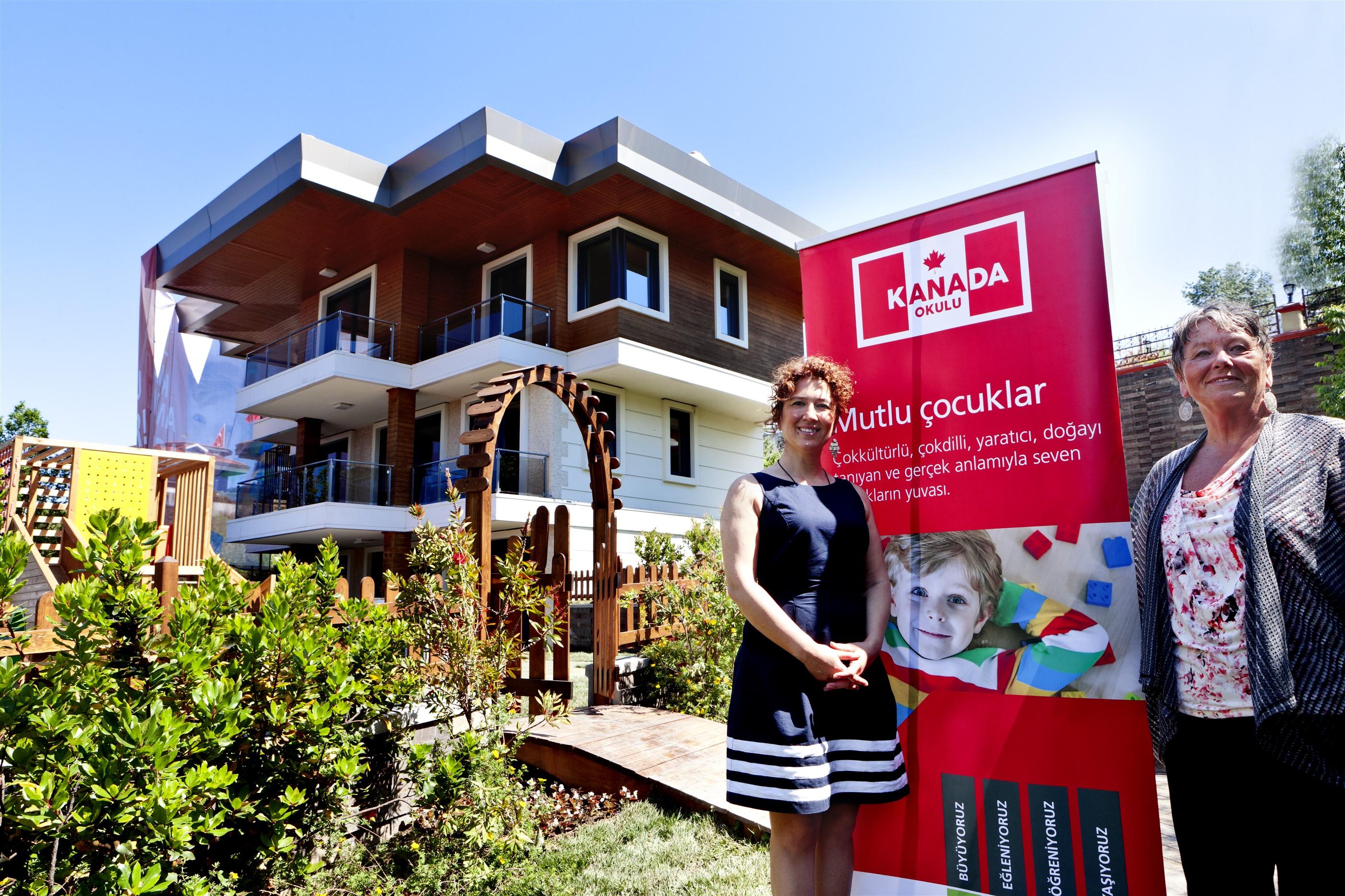 Türkiye'deki ilk Kanada İlkokulu öğrencilere kapılarını açıyor