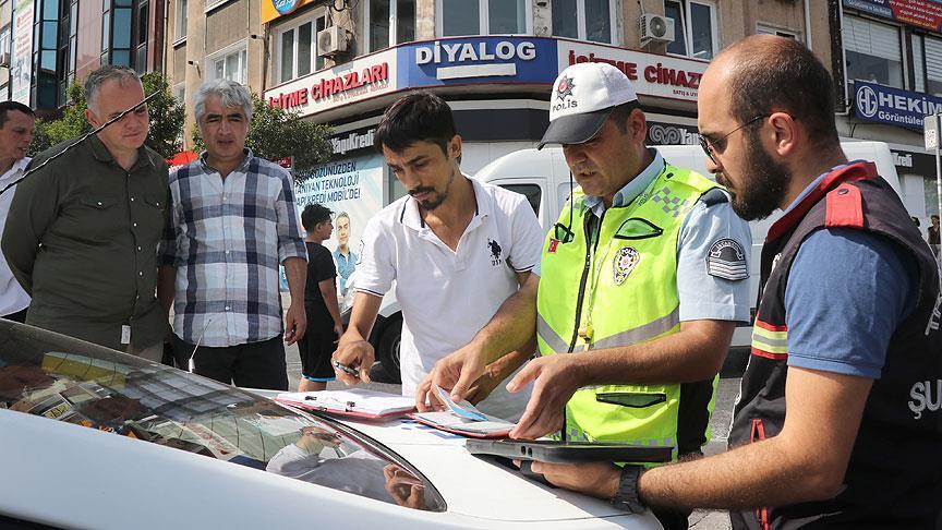 İstanbul'da okul servislerine yönelik denetim yapıldı