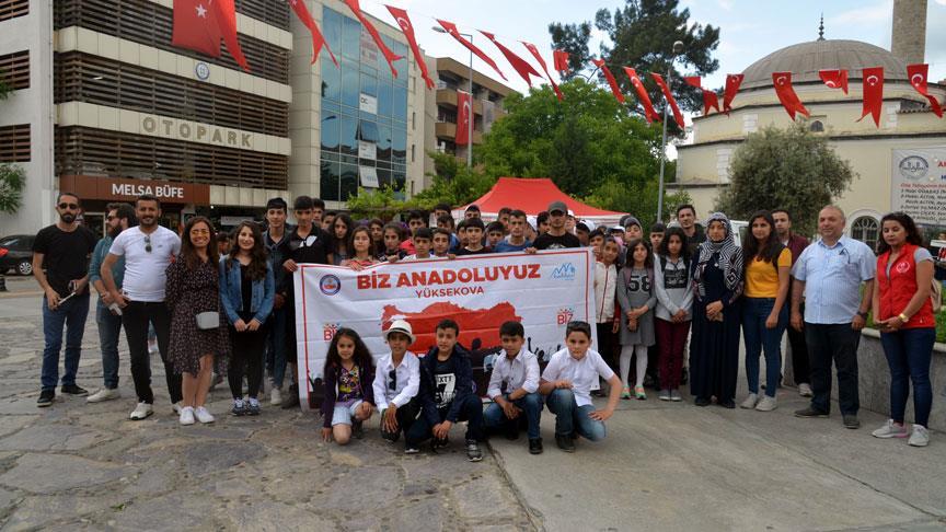 Ağrılı ve Hakkarili öğrenciler Muğla'yı gezdi