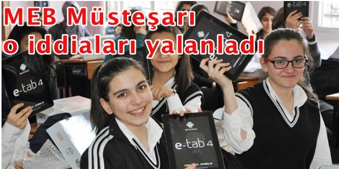 Yedek tabletler personele
