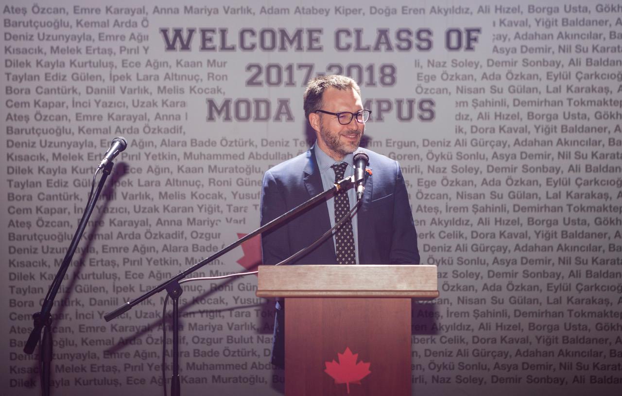 """Kanada İstanbul Başkonsolosu Ulric Shannon: """"Sürekli iyileştirme ilkesi ile çalışmalıyız"""""""