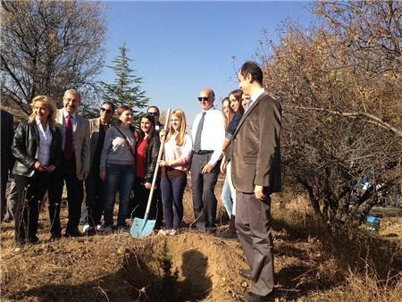 ODTÜ, 300 Bin Ağaç Hedefiyle Kampanya Başlatıyor
