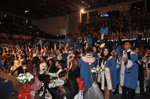 Doğu Akdeniz Üniversitesi yeni mezunlarını verdi