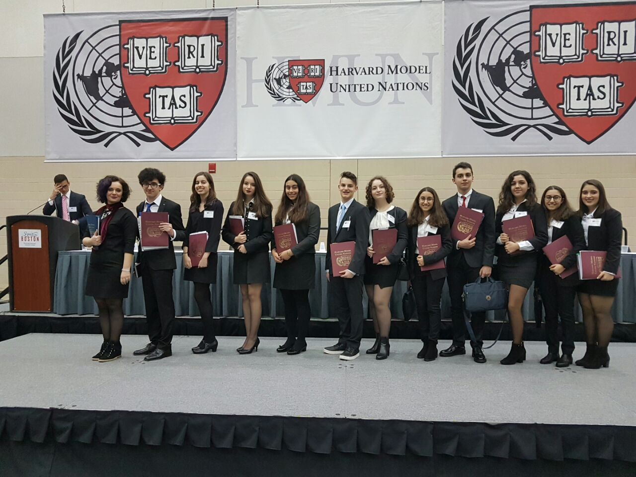 Çevre Lisesi Öğrencileri Harvard MUN (Model Birleşmiş Milletler) Konferansında