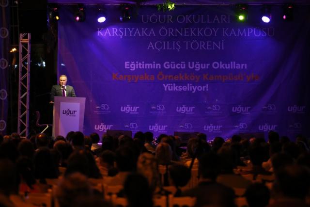 """""""672 öğrenci kapasiteli Uğur Okulları Karşıyaka Örnekköy Kampüsü açıldı"""""""