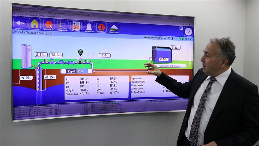 Milli yazılımla 'su'dan 4 milyon lira tasarruf sağlandı