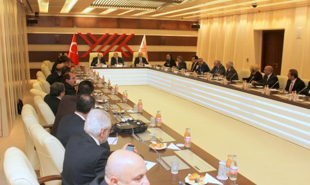 İçişleri Bakanı Efkan Ala 24 üniversitenin rektörleriyle bir araya geldi