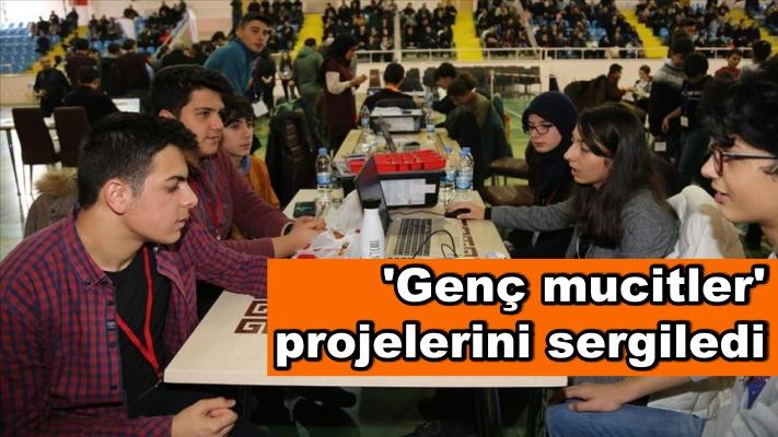 'Genç mucitler' projelerini sergiledi