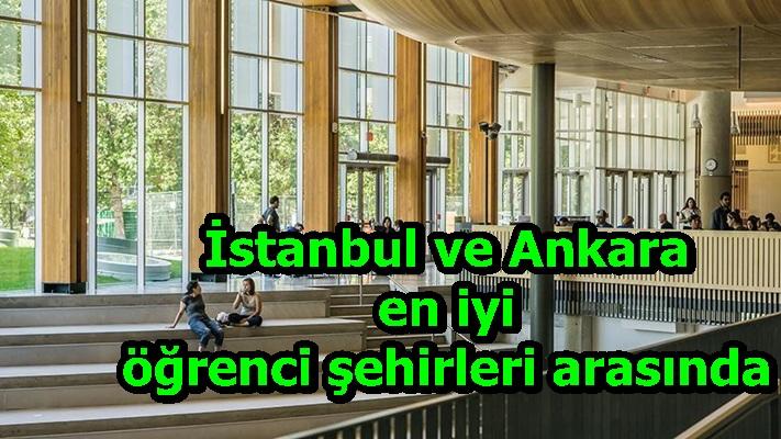 İstanbul ve Ankara en iyi öğrenci şehirleri arasında