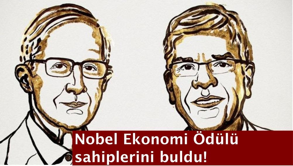 Nobel Ekonomi Ödülü sahiplerini buldu!