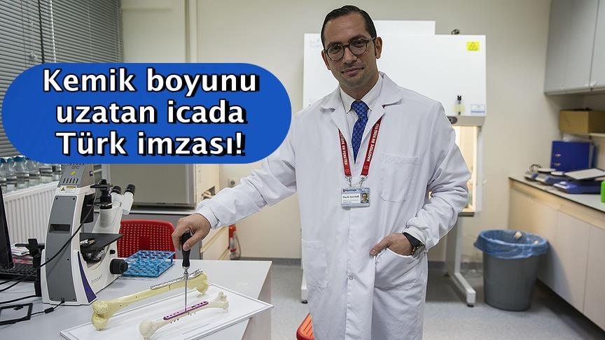 Kemik boyunu uzatan icada Türk imzası