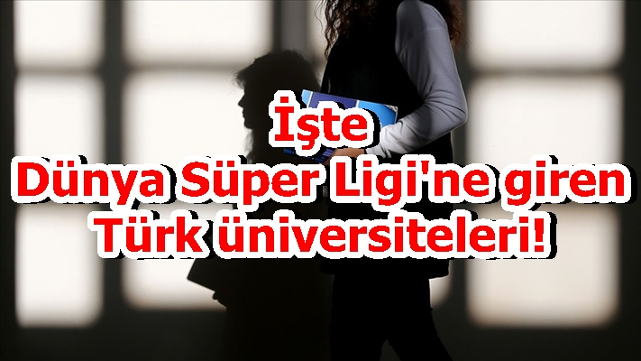 İşte Dünya Süper Ligi'ne giren Türk üniversiteleri!
