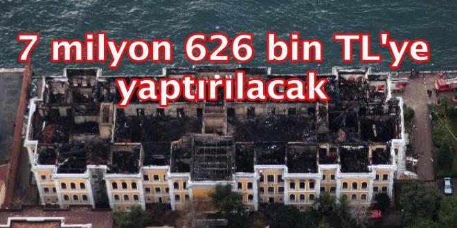 Galatasaray Üniversitesi'nin 147 yıllık binası restore edilecek