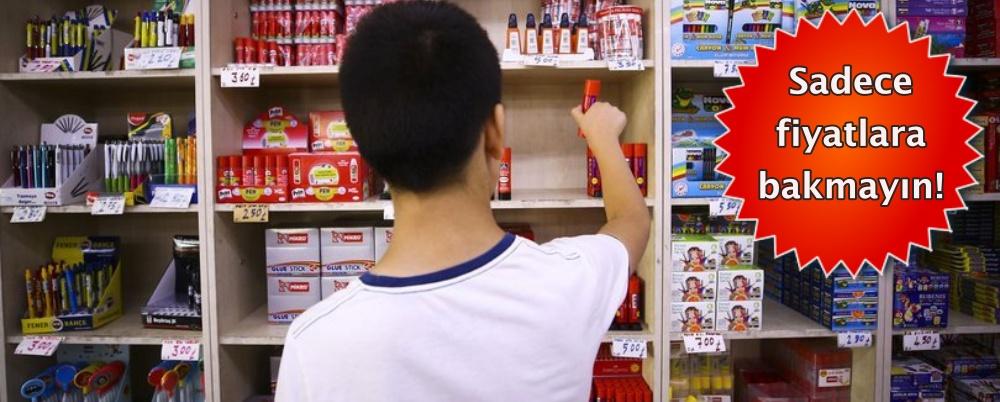 Velilere 'okul alışverişi' uyarısı