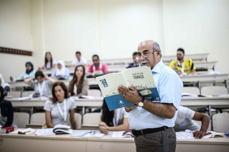 46 ülkeden 540 yabancı öğrenci, Türkçe'yi Türkiye'de öğrenecek