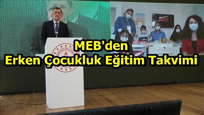 MEB'den Erken Çocukluk Eğitim Takvimi