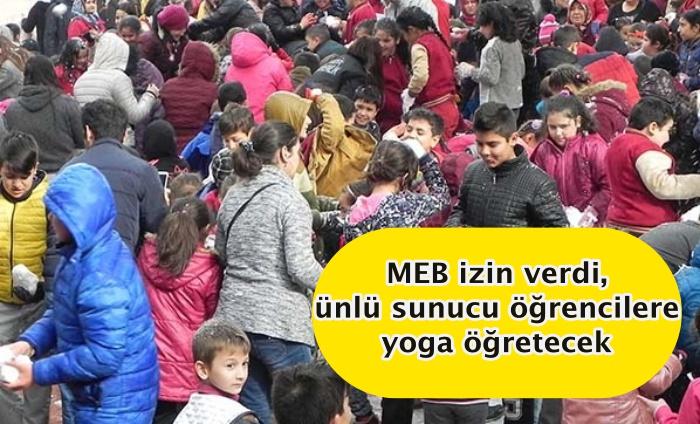 MEB izin verdi, ünlü sunucu öğrencilere yoga öğretecek